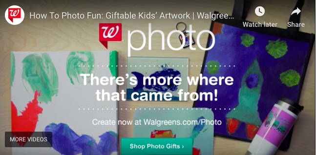 Walgreens Photo - Video Content Campaign