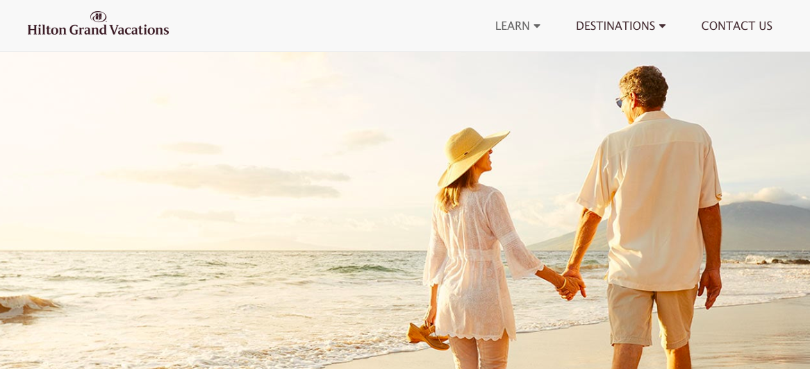Copy of Hilton Grand Vacations - Content