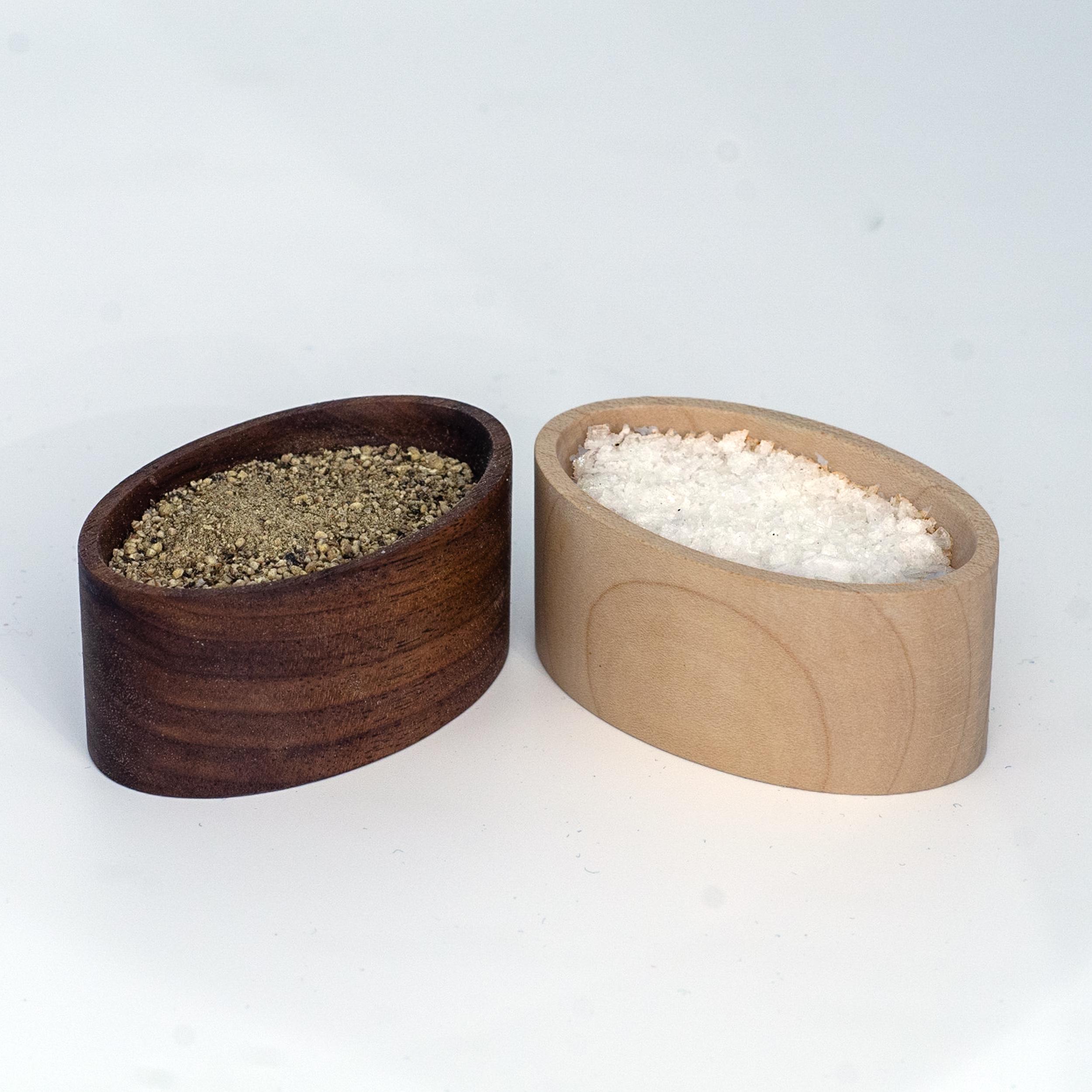 Salt & Pepper Pinch Pots -