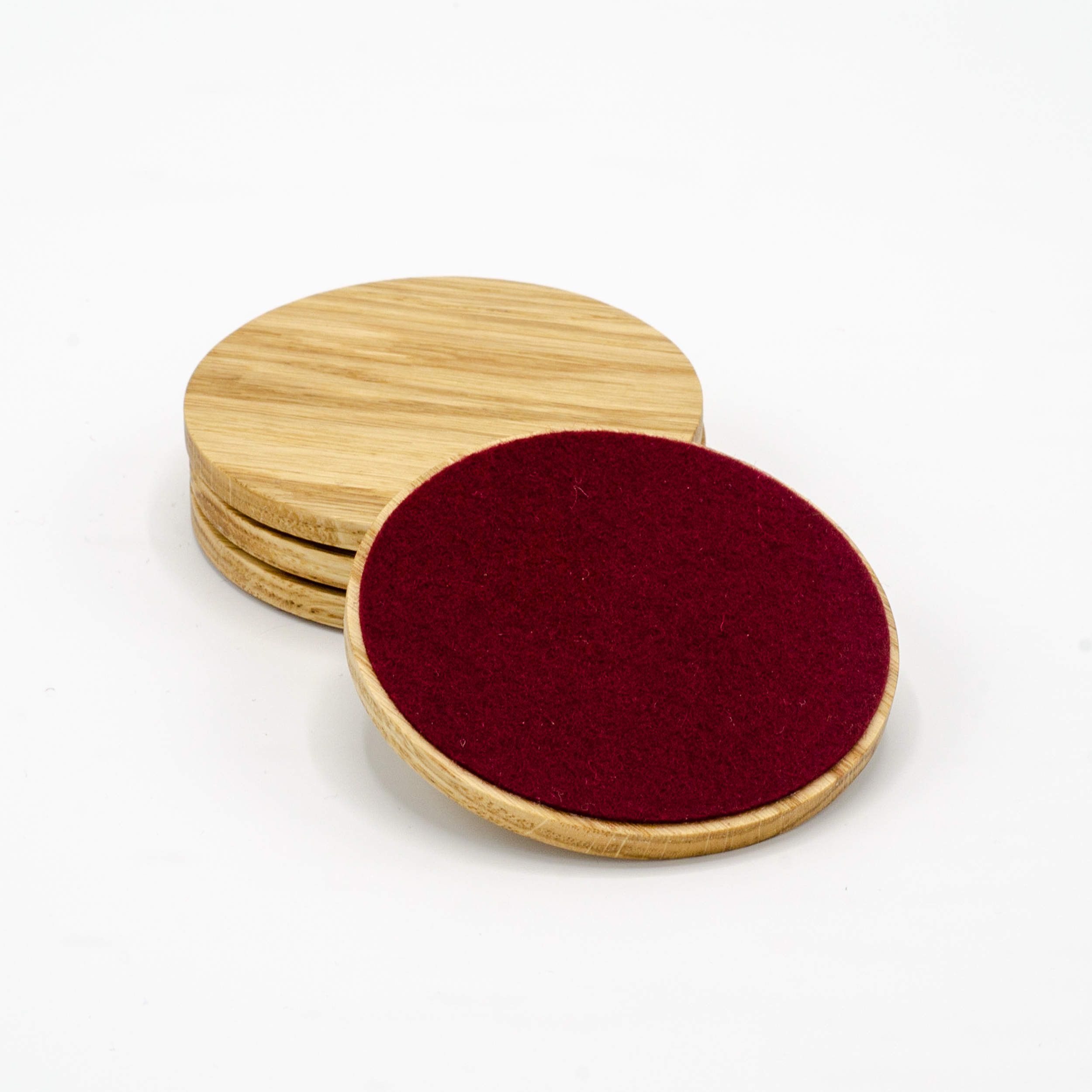 Oak Coasters -