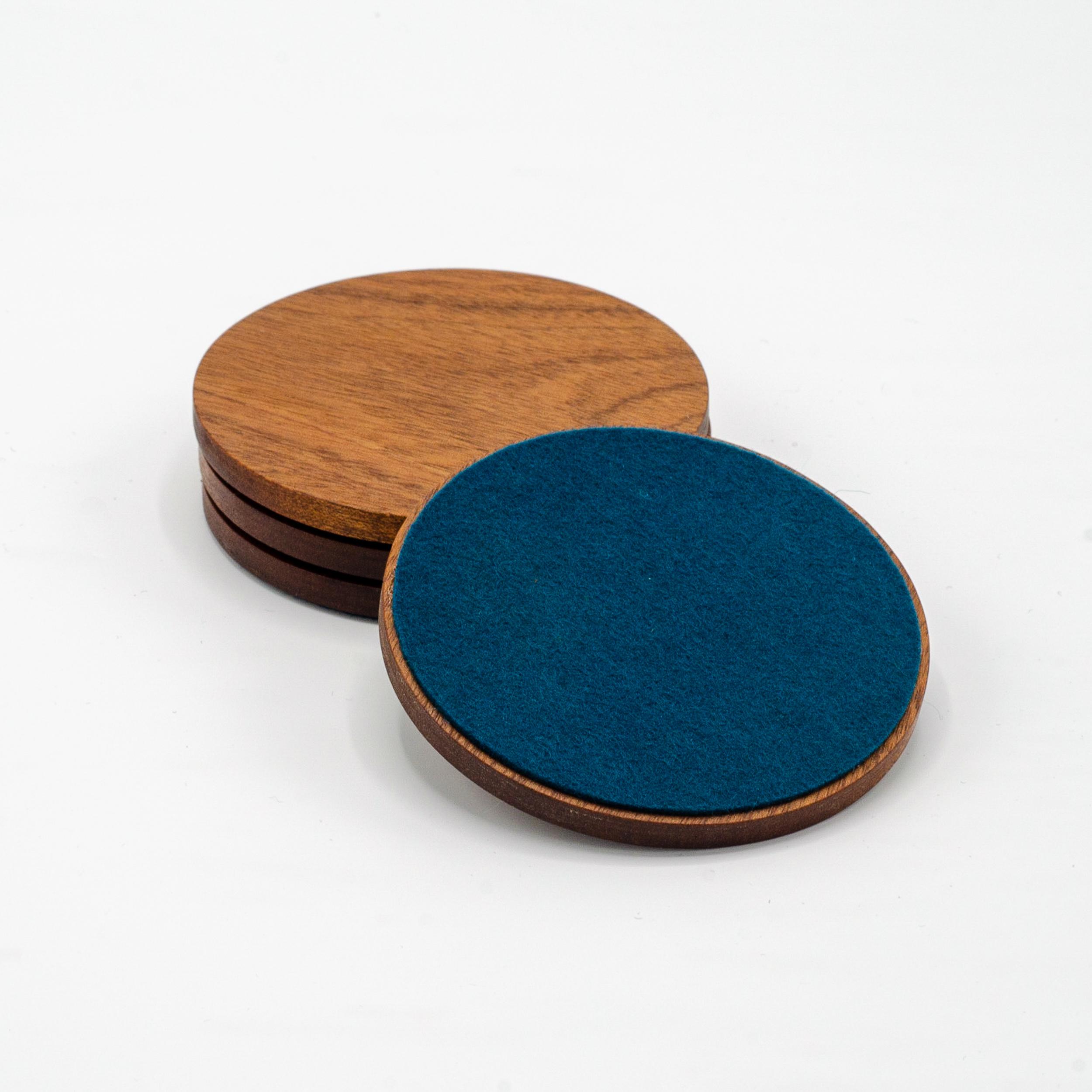 Mahogany Coasters -