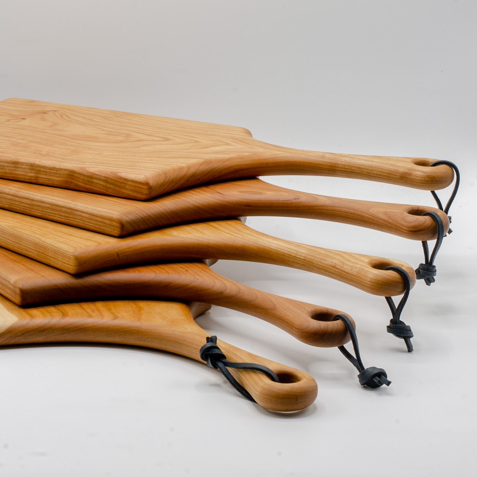 Solid Cherry Serving Board -