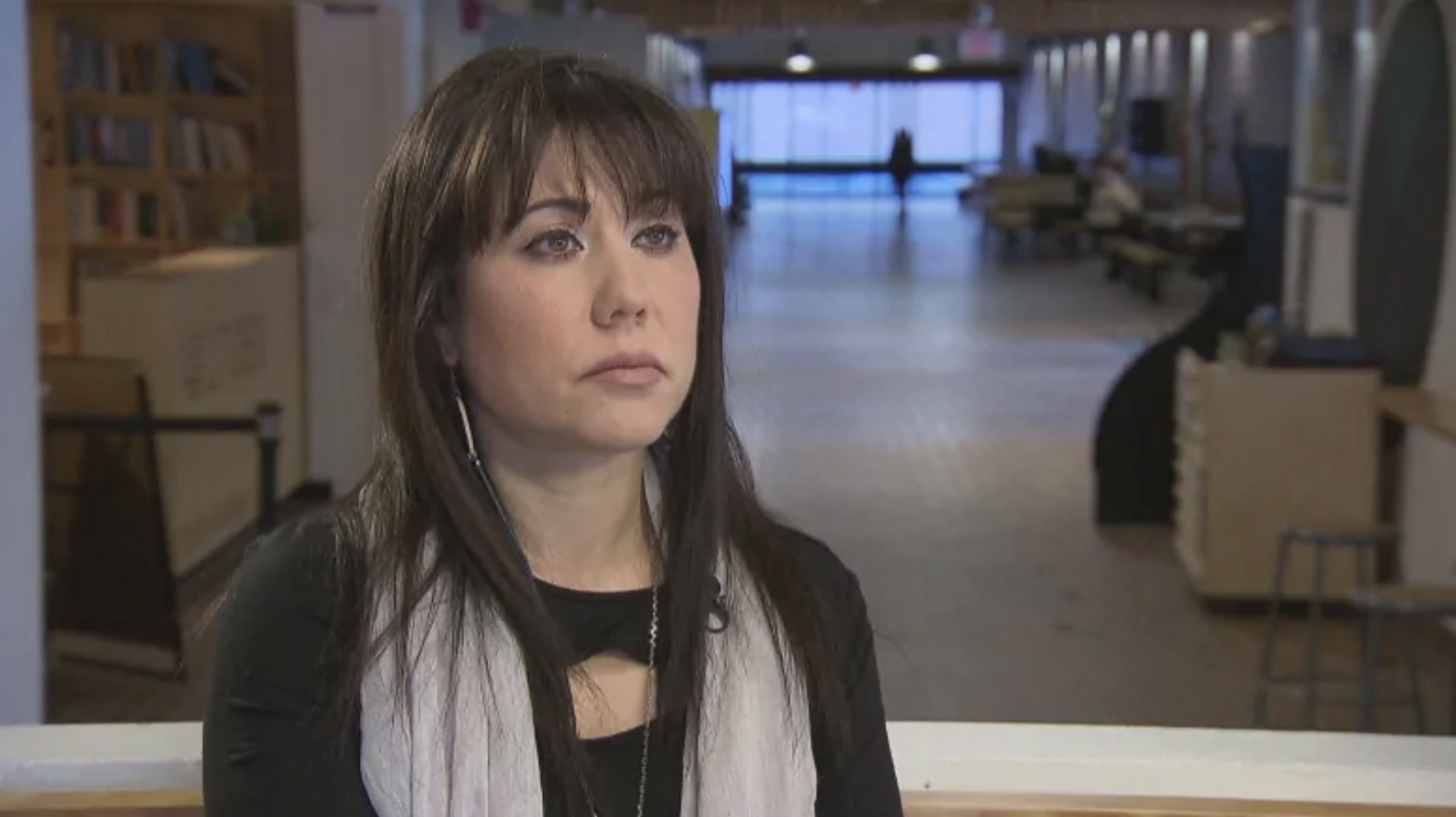 Leah Gazan says she has long since lost confidence in the national inquiry, 'particularly seeing the way that a lot of the persons that are testifying and families that were involved in it were being treated.' (Warren Kay/CBC)