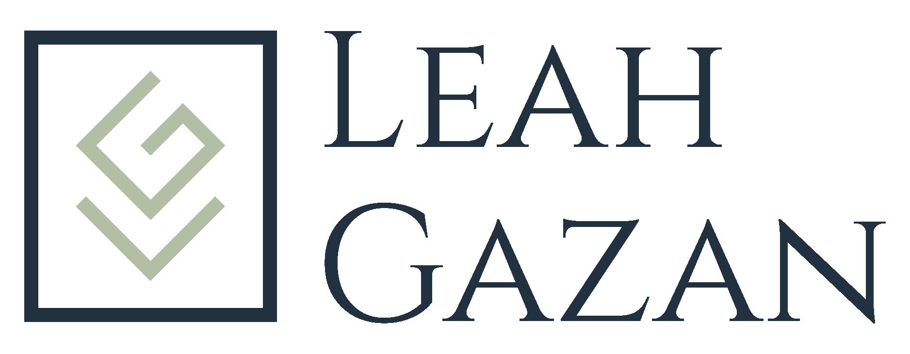 Leah Gazan Logo
