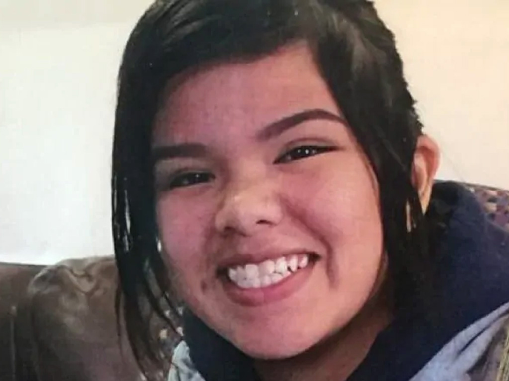 Azraya Kokopenace, 14, was found dead in Kenora, Ont., on April 17 after walking away from the hospital where police dropped her off. Her parents are calling for an inquest into her death. (Ontario Provincial Police)