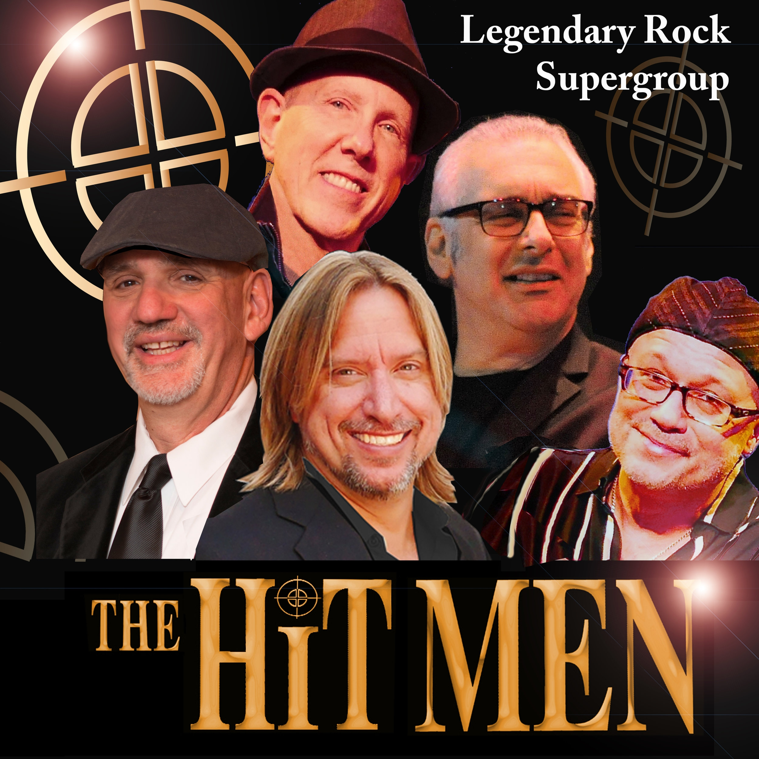 THE HIT MEN - Legendary Rock Supergroup
