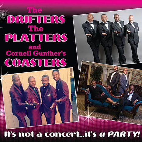 The Drifters, The coasters & The Platters -