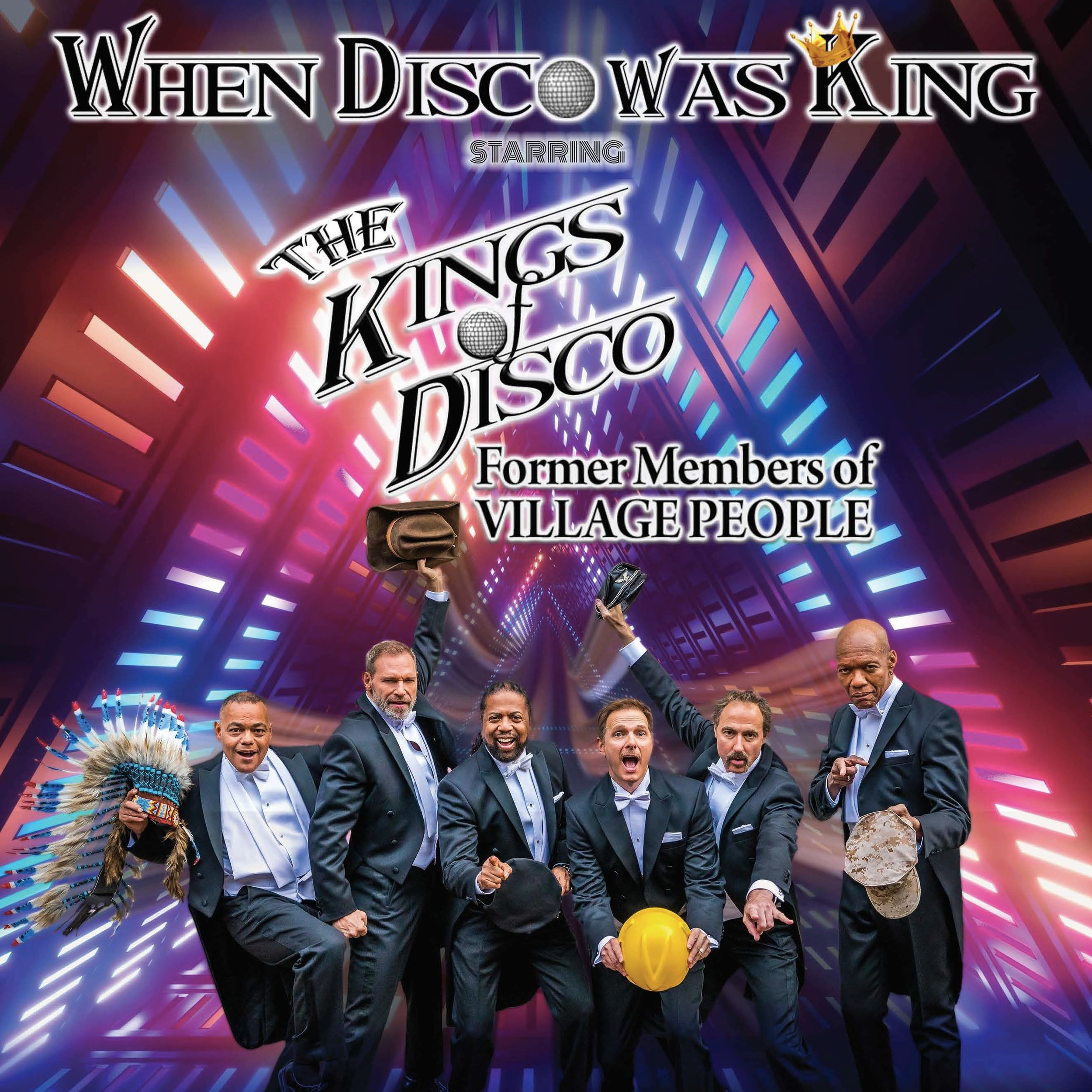 WHEN DISCO WAS KING - Former members of village people