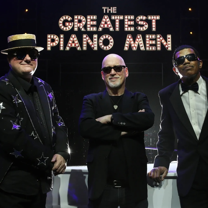 THE GREATEST PIANO MEN - Billy, Elton, Stevie, Ray & More
