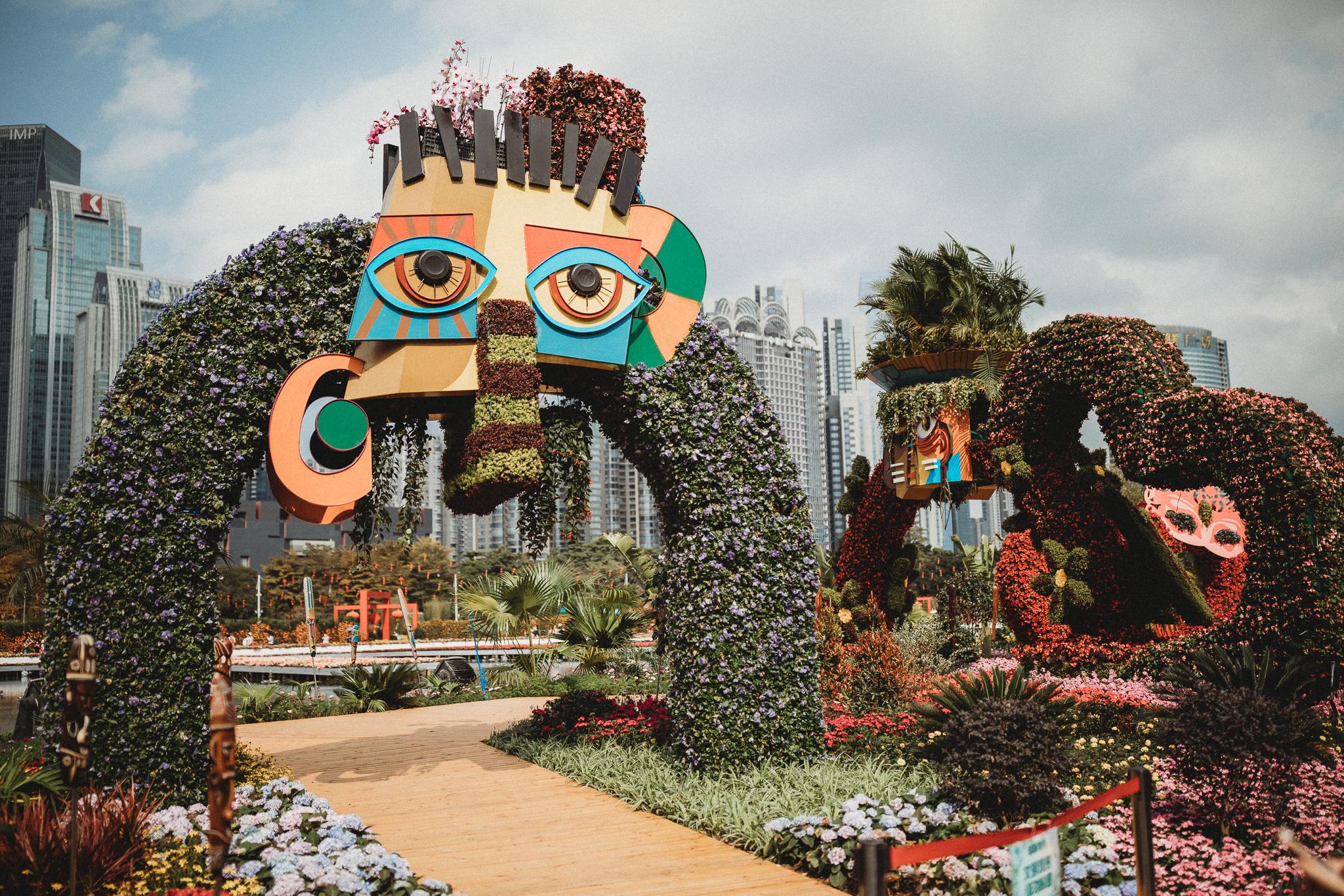 Haixinsha Flower festival, Chinese New Year, Guangzhou China (16 of 20).jpg