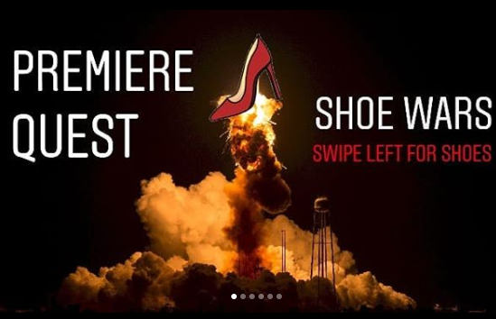 shoe wars (BAttle #3) - There's still time to submit your shoes for Premiere Quest's Show Wars, Battle #3.