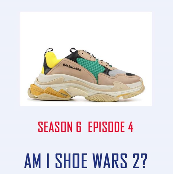 S6 E04 - AM i shoe wars 2? (BAttle #2) - This week we rate and discuss shoes. The winner will be worn by us on a houseboat in Africa.