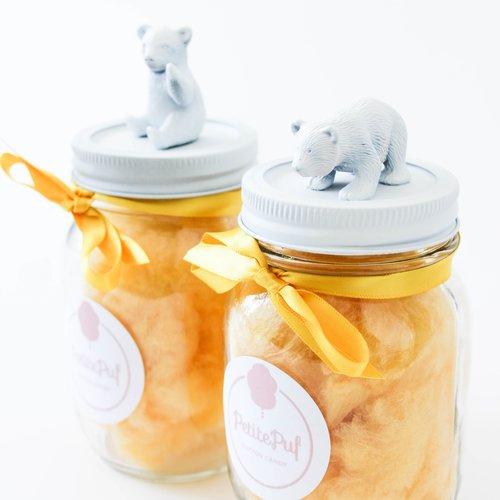 PetitePuf Organic Cotton Candy stock images