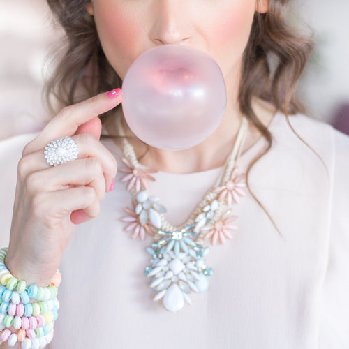 PetitePuf Cotton Candy Editorial Shoot
