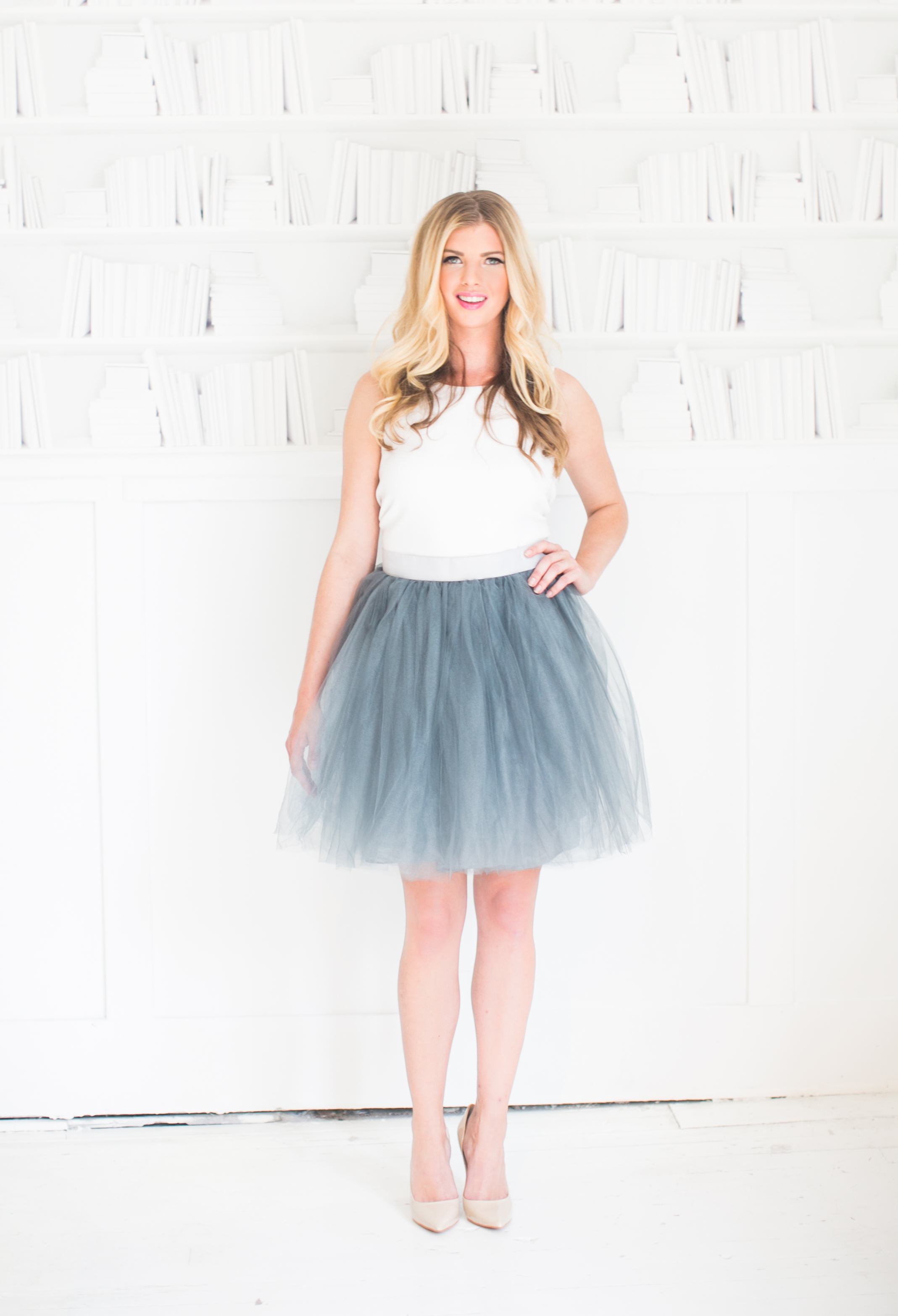 Beautulleful Tulle Skirts Stock Images