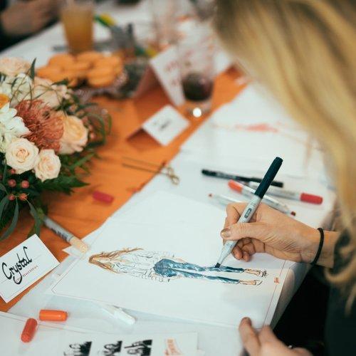 Cointreau Fashion Illustration Media Event