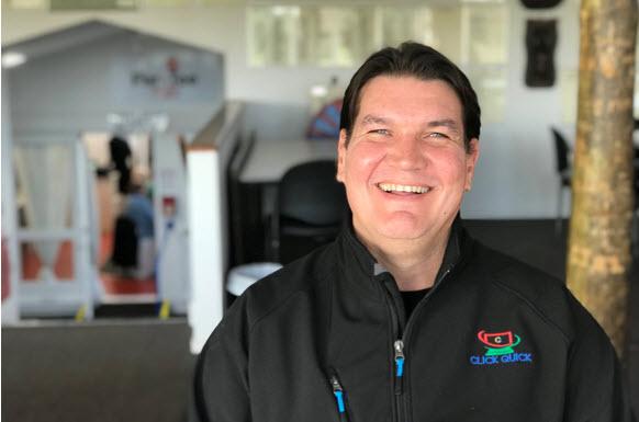 Henry Kruger, Owner Operator of Click Quick