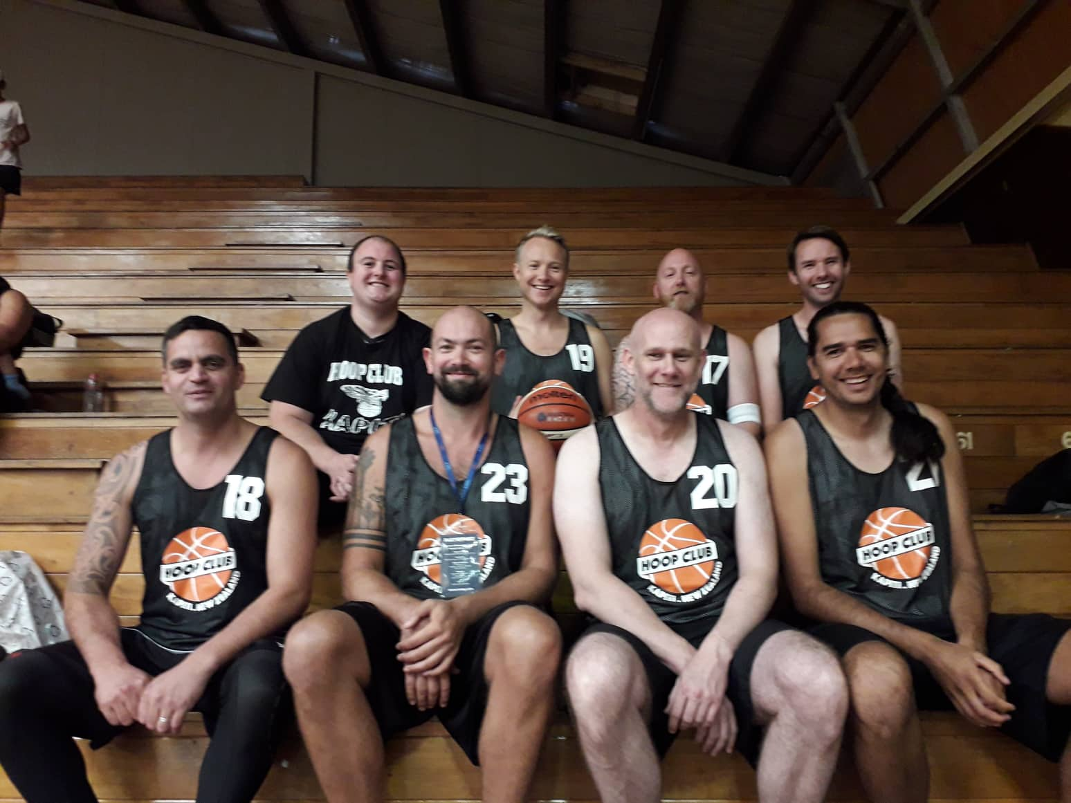 Kapiti Hoop Club - Masters Team