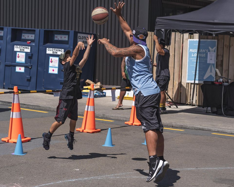 Photo: Hoop Club hot shots day at Pak n Save.