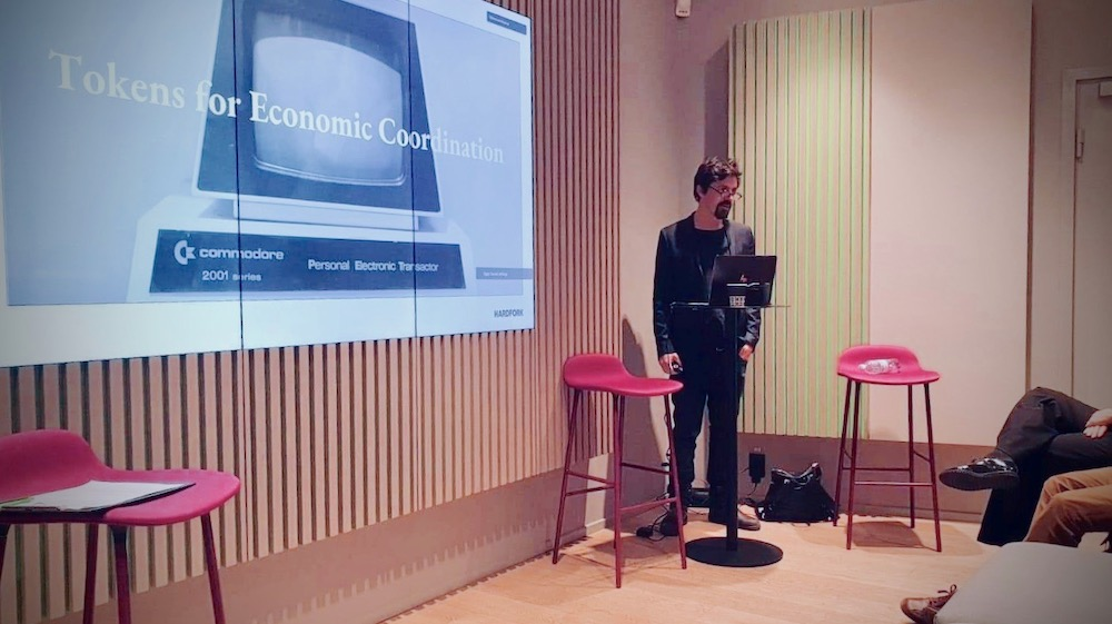 """SEB Tech Days - Hardfork talked about """"Tokens for Economic Coordination"""" at the SEB Tech Days"""