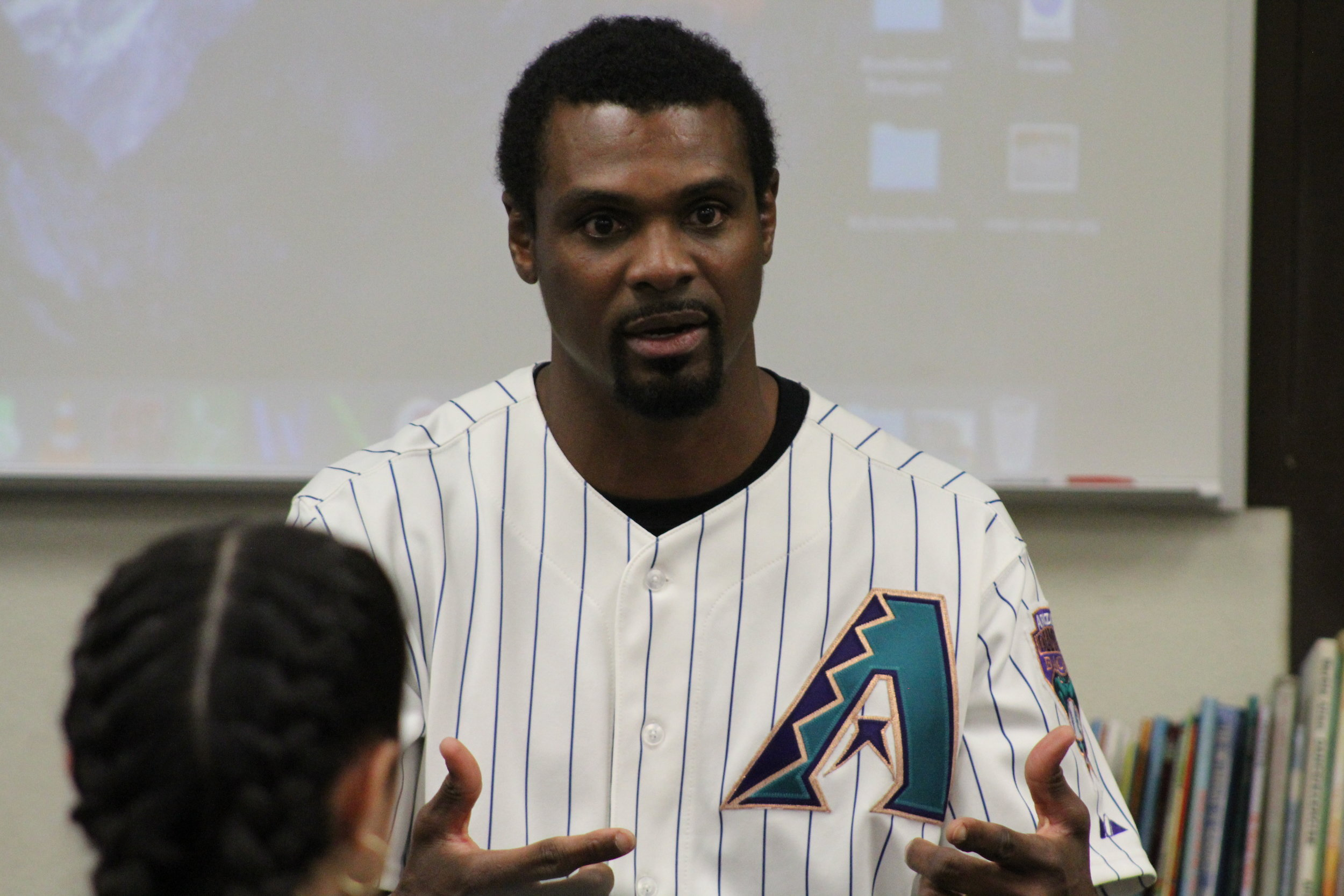 Former Major League Baseball Player Junior Spivey