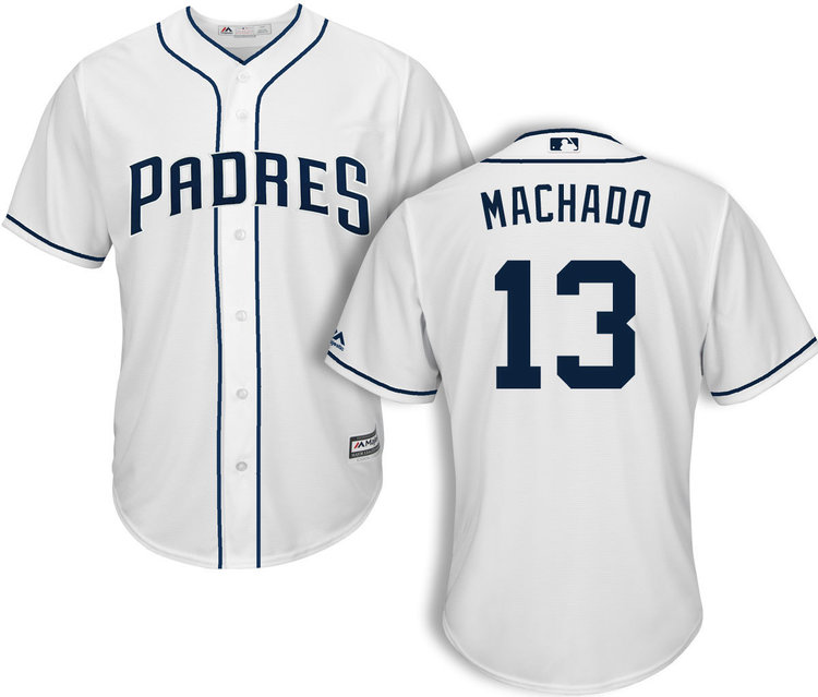 new arrival 6ba75 e91d9 Manny Machado San Diego Padres Jerseys (All Colors) — Jersey Cave
