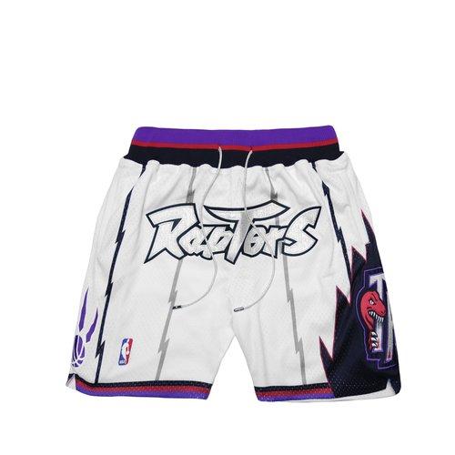 pretty nice 0226a e6544 Toronto Raptors White Throwback Shorts — Jersey Cave