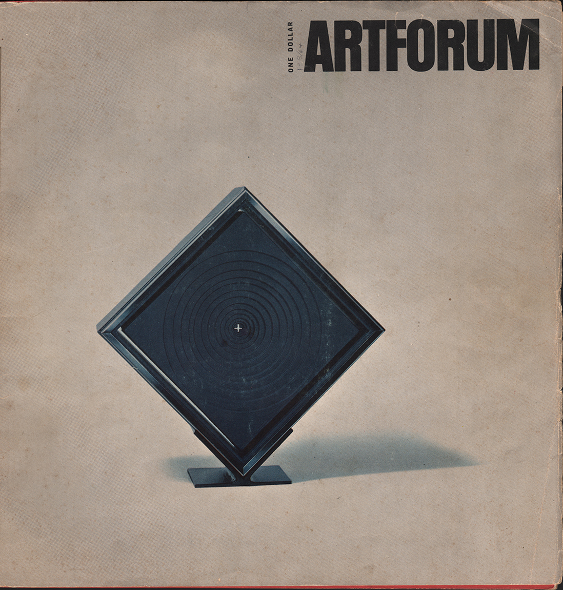 "ArtForum, February 1964, ""Delap, Space and Illusion,"" by John Coplans"