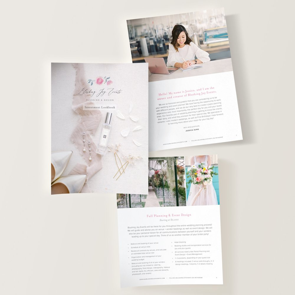 Wedding Planner Lookbook