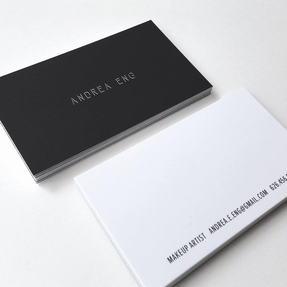 Black Matte Business Cards