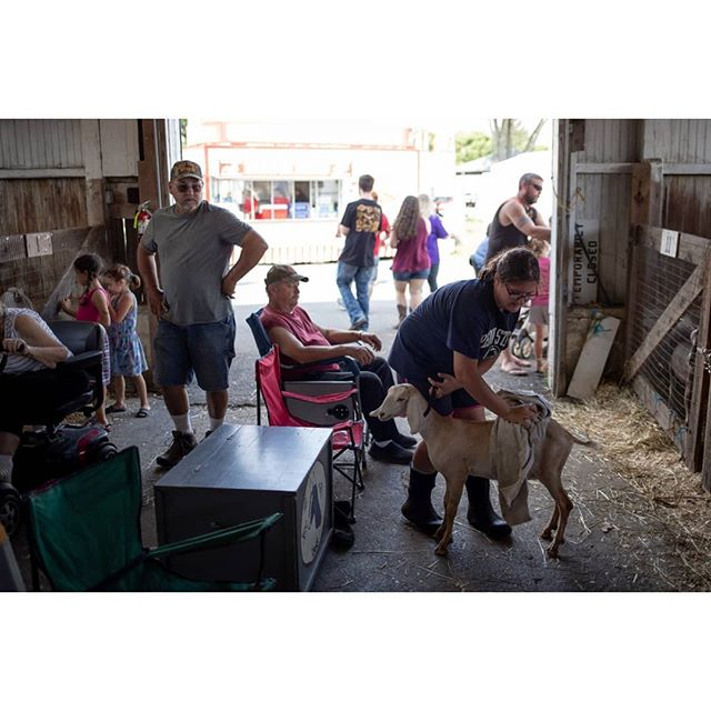 09/17/2019   Pennsylvania Grange Fair at it's 160th year. Thousands of families and friends gather to take part. #pennsylvania #grangefair #americandailylife #nofilter