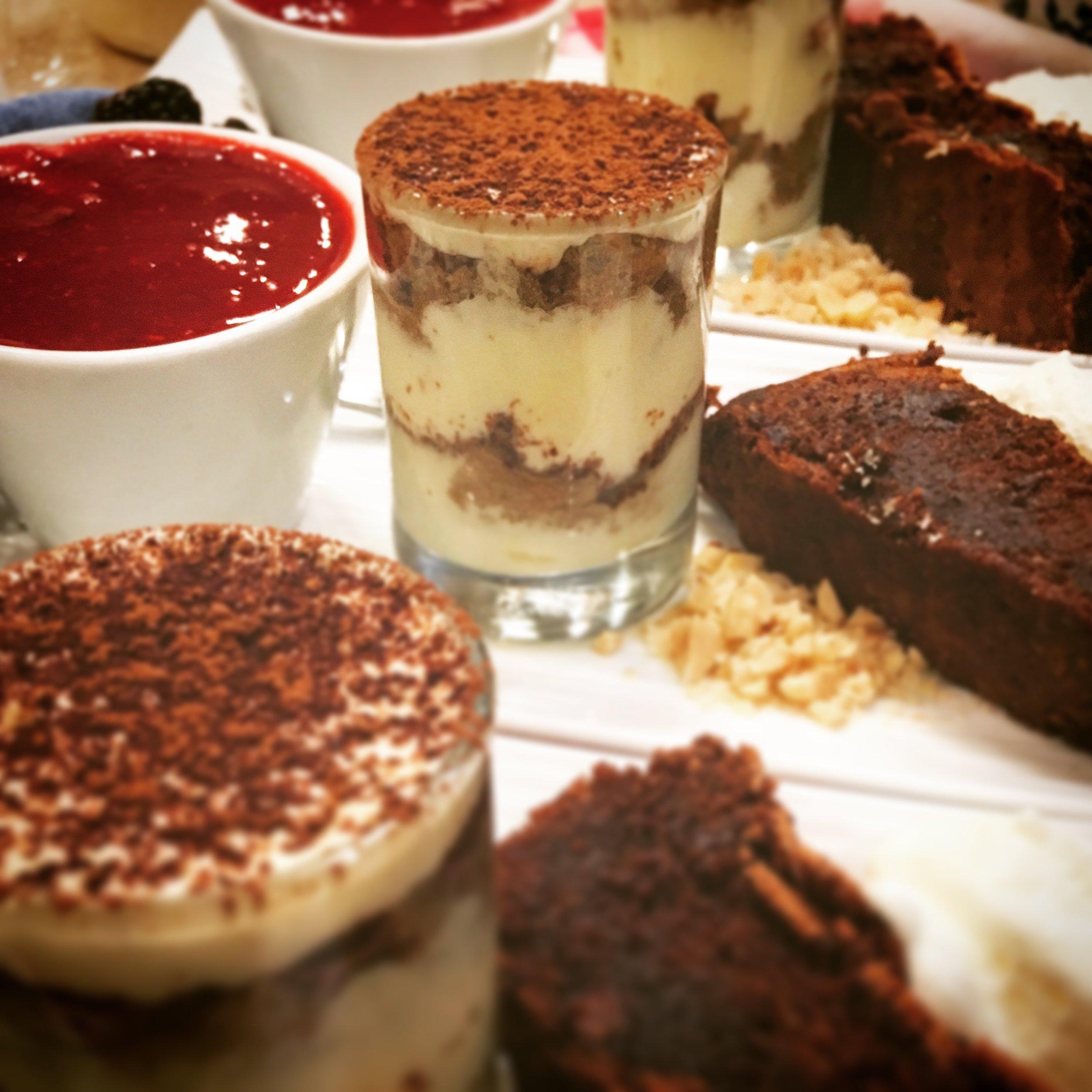 Italian Dessert Trio