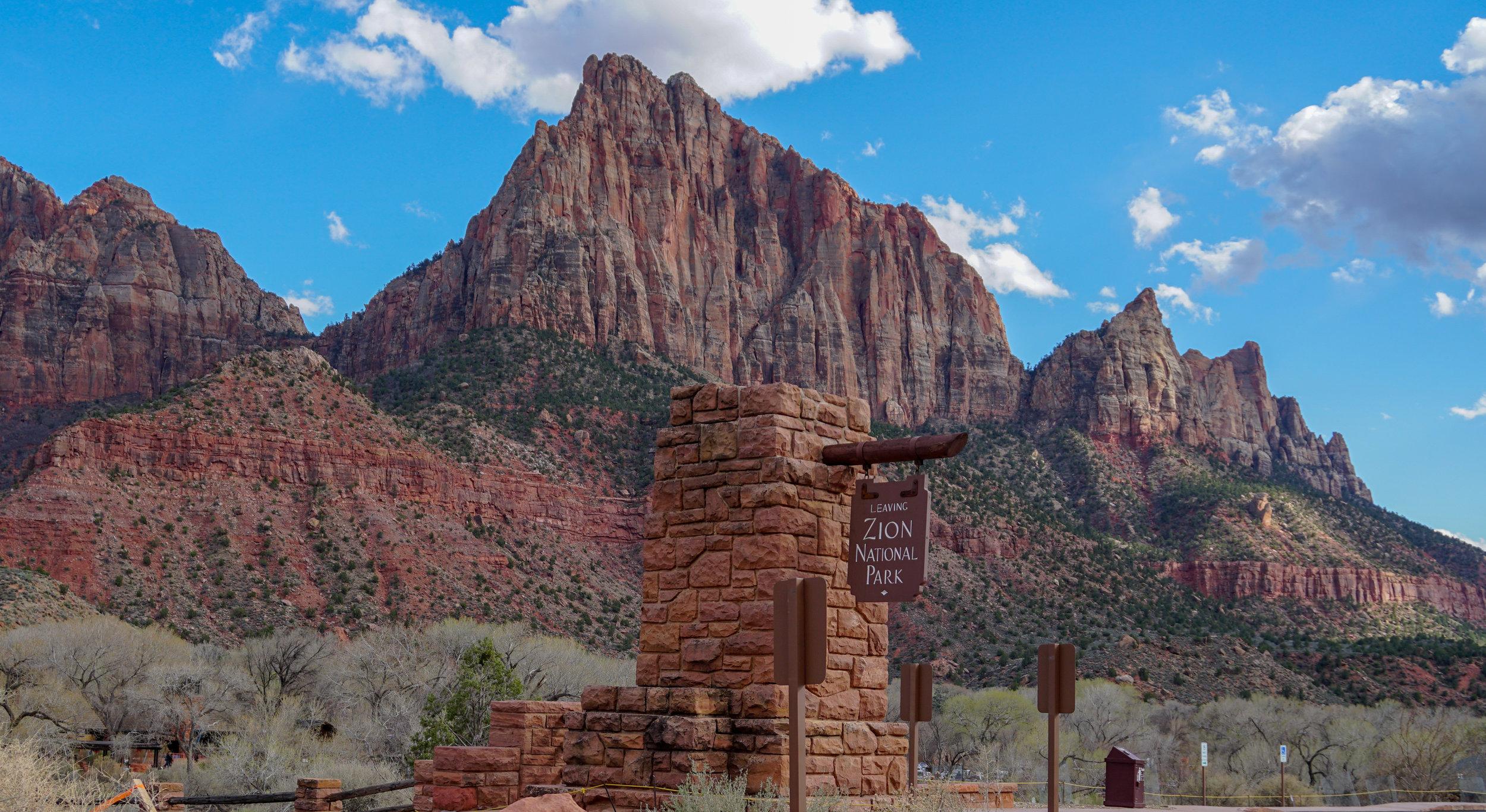 Zion national park -