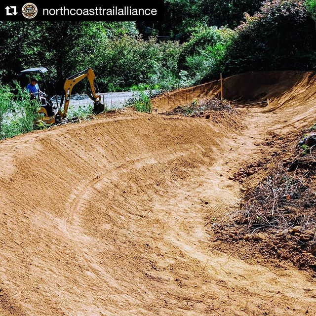 Can you tell we're (justifiably) excited about Klootchy Creek? The build out looks stunning, who's coming to the grand opening? - #Repost @northcoasttrailalliance: North Coast Trail Alliance shout out to the guys in the dirt.  Morgan and Nate have finished #moflow.  It'll be open for the public July 20th at our grand opening!  Closed to let those buttery berms pack out.  #prayforrain Todd has been breaking his back on #Chriscross and Steven is always there cutting the stumps out of the way... Our main down line is riding so nice all the way through now. Chris has been out there flagging our next section we'll be building this Sunday.  Come join us at 8:45am at the Klootchy Creek lot!  Thanks all who have been making the push.  #northcoasttrailalliance #nwtrailalliance #mtblife #pnwmtb #getdirty
