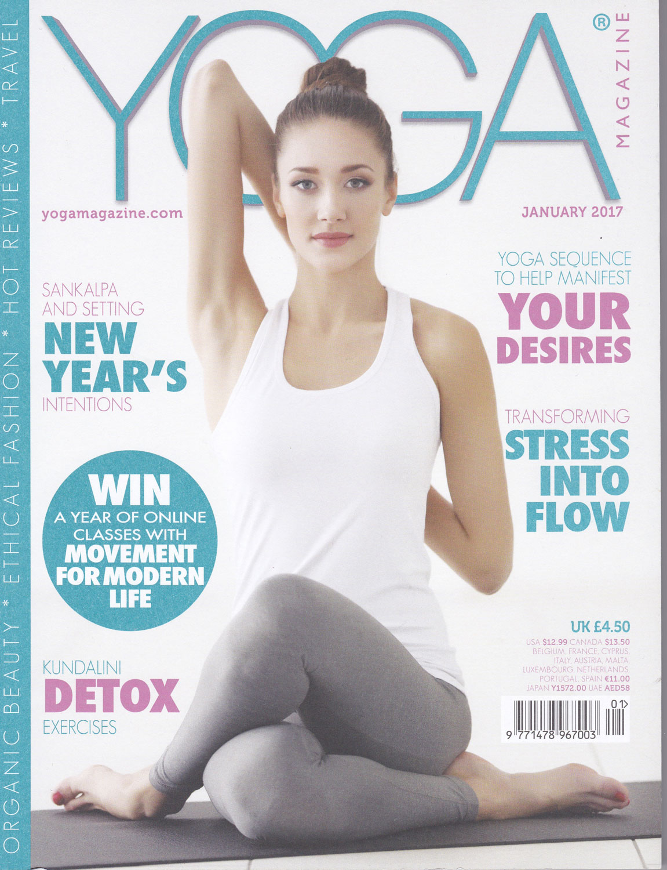 Yoga Magazine, 2017
