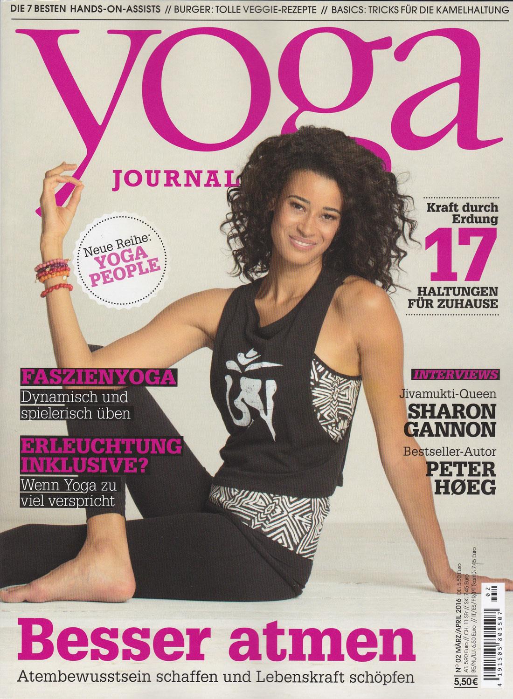 Yoga Journal, 2016