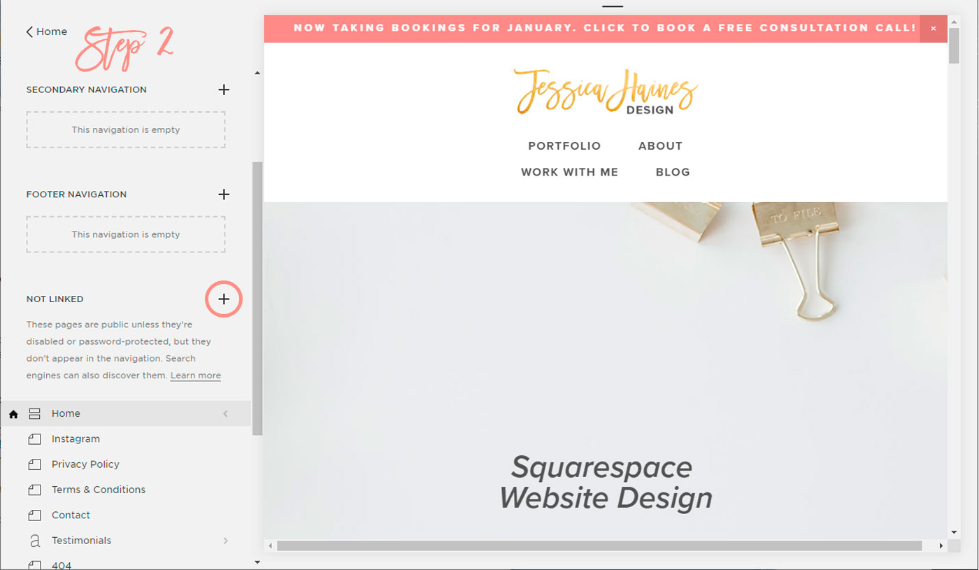 Using Squarespace for Instagram instead of Linktr ee