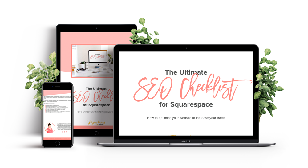 Having trouble getting website visitors from Google? This checklist will help you optimize your website and your content so that you can show in search results and increase your website traffic over time | www.jessicahainesdesign.com