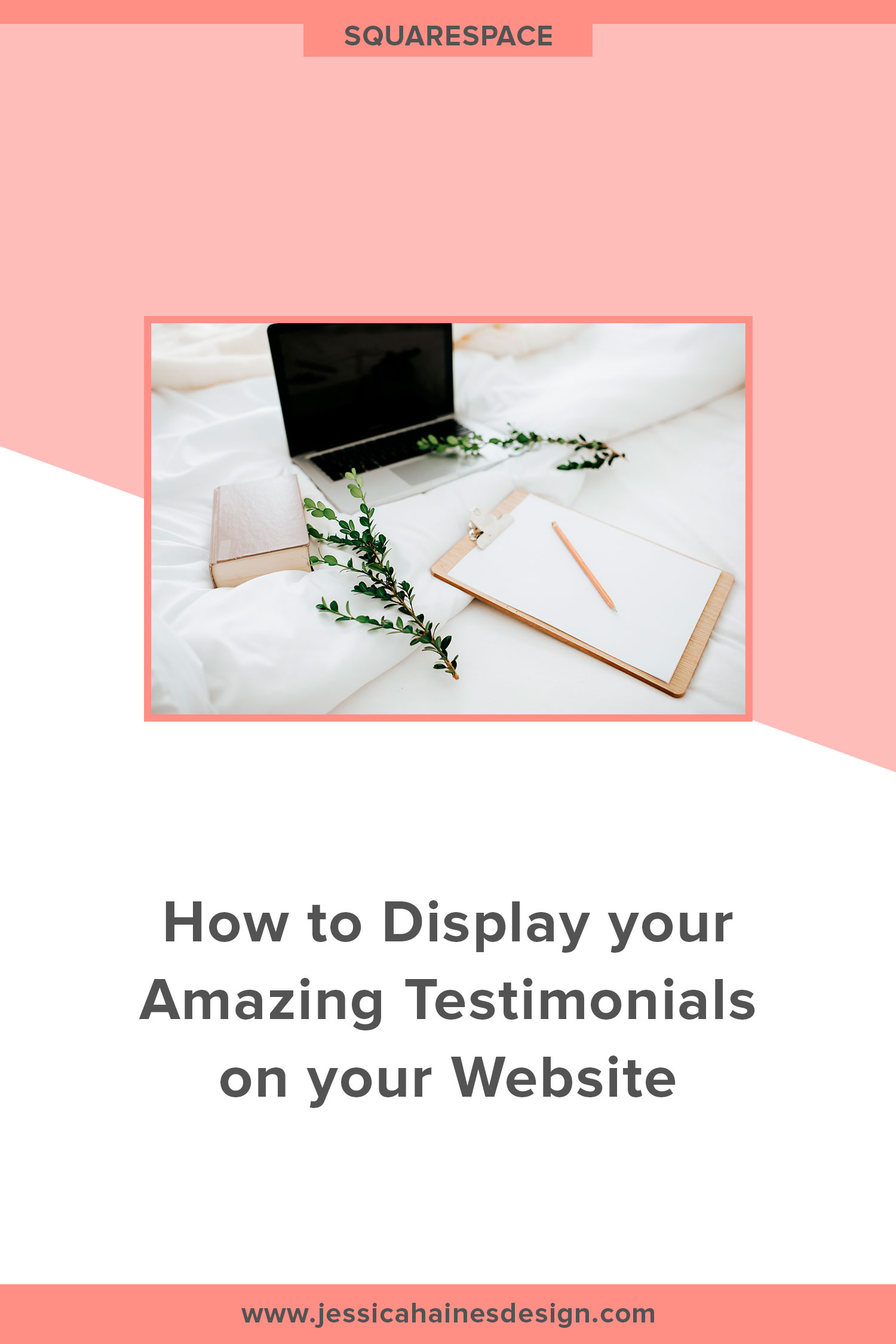 Using testimonials on your website can have a big impact on the amount of sales your website makes. But how do you display them in a way that looks great and gets people opening their wallets? Click through to find out! | www.jessicahainesdesign.com