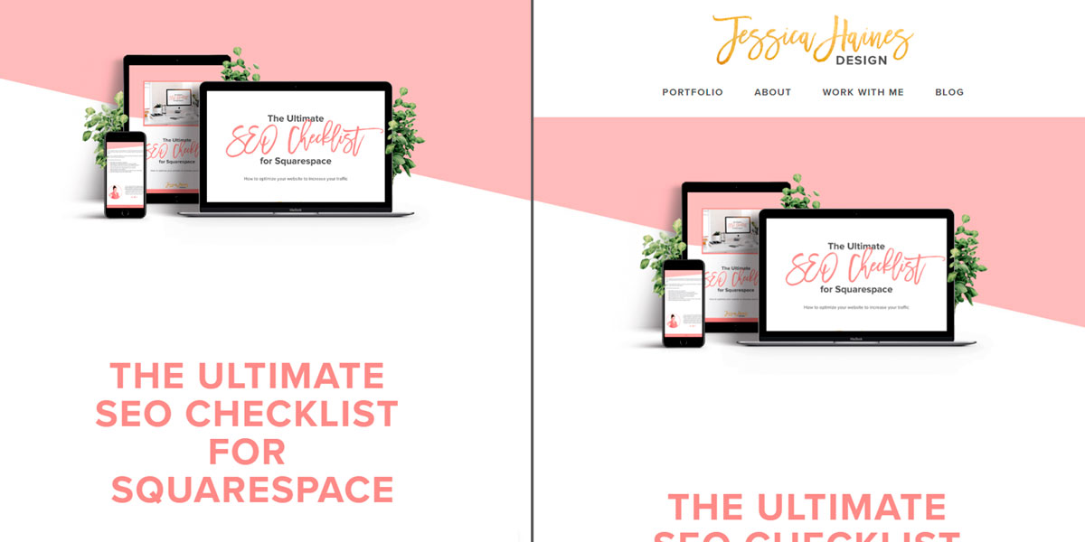 Occasionally you'll have pages on your website where you only want people to take the one action. And the best way to ensure they do it is to remove any distractions from the page. And that includes your header, footer and announcement bar. This code will allow you to remove all of these in Squarespace so you can create a distraction free page! | www.jessicahainesdesign.com