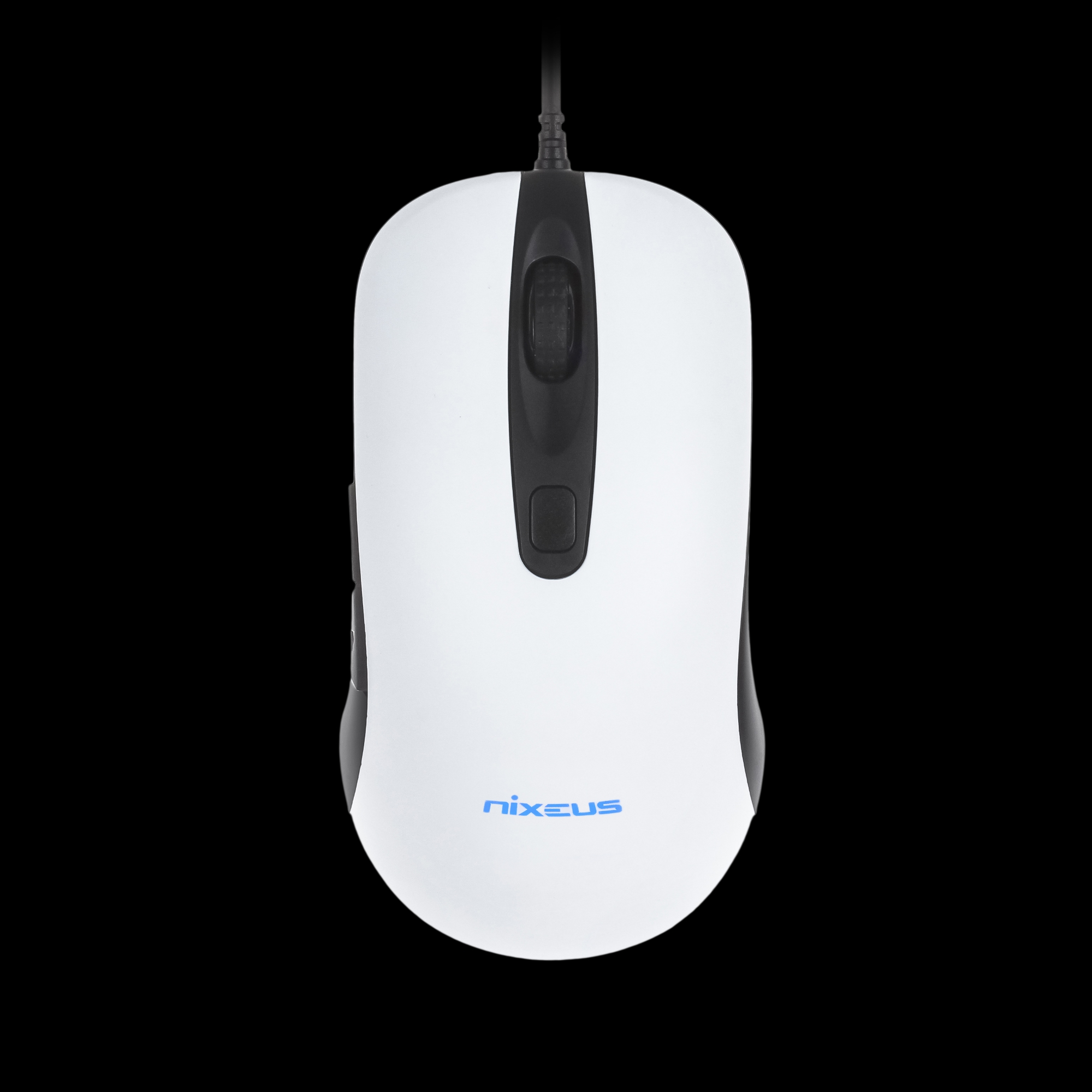 Nixeus REVEL Gaming Mouse with PMW3360 Gaming Grade Sensor (Available in Rubberized Black and Matte White)