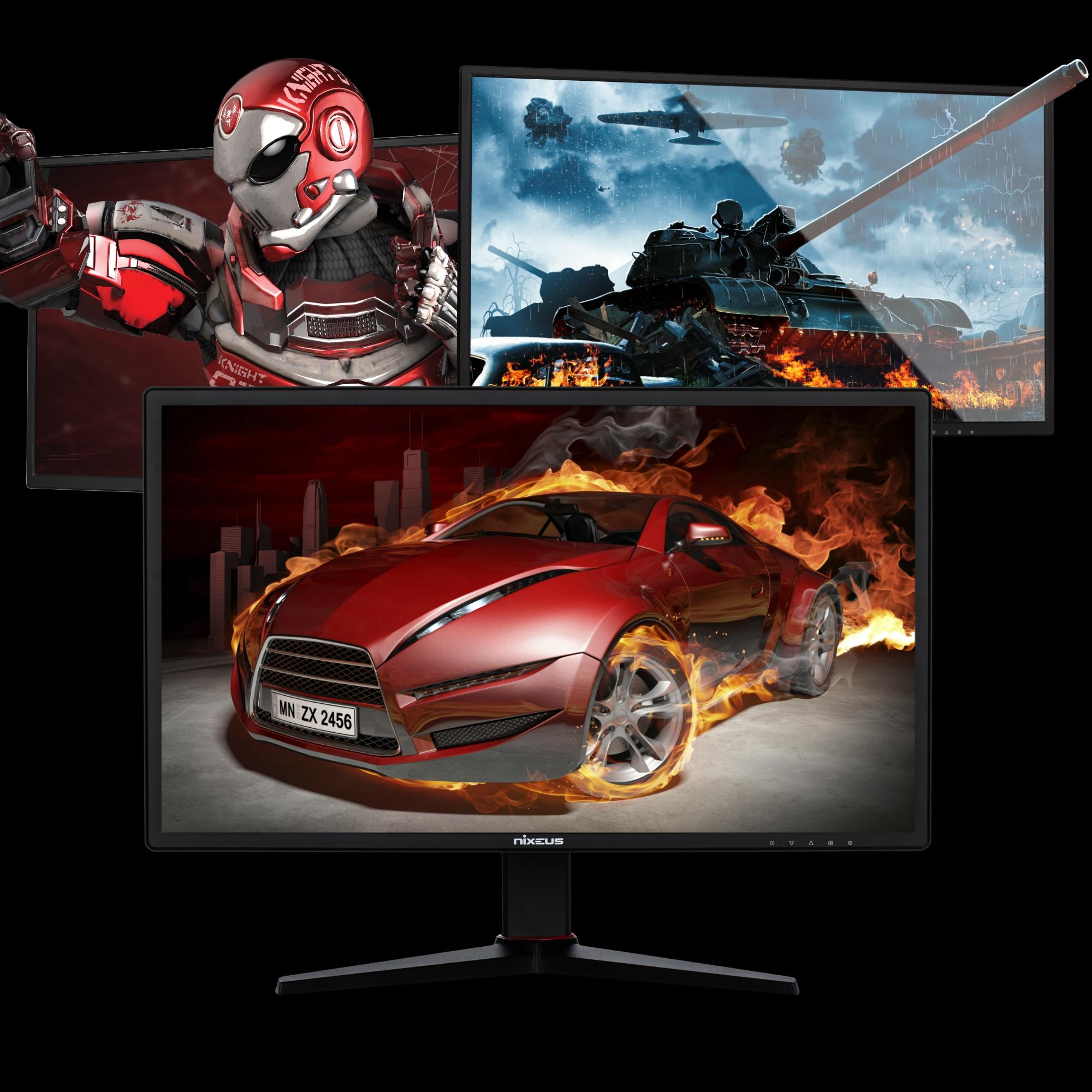 7-7-2019: Nixeus EDG Gaming Monitors Press Release