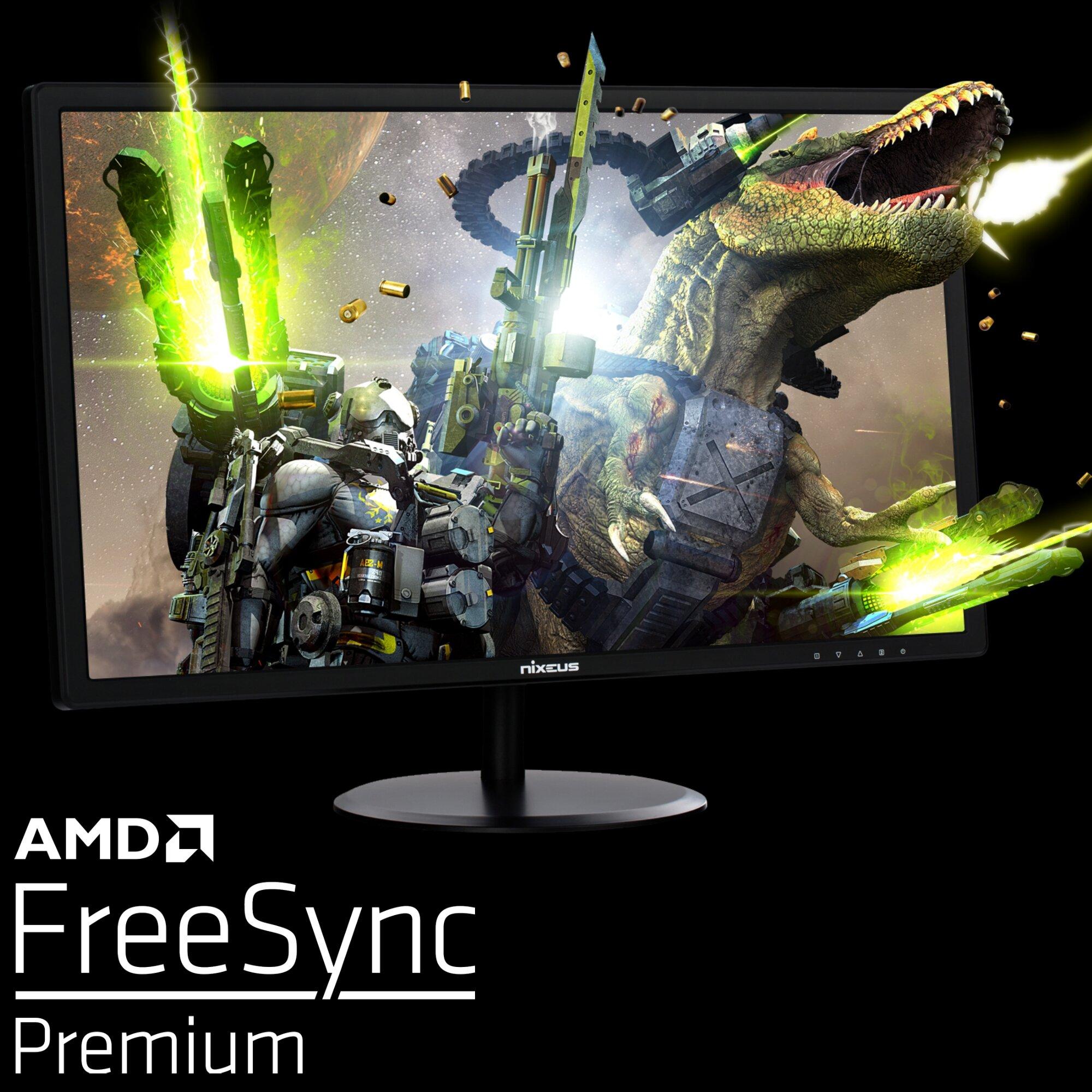 Nixeus Edg 24 1920 X 1080 Amd Radeon Freesync Premium Certified 144hz Gaming Monitor Nixeus