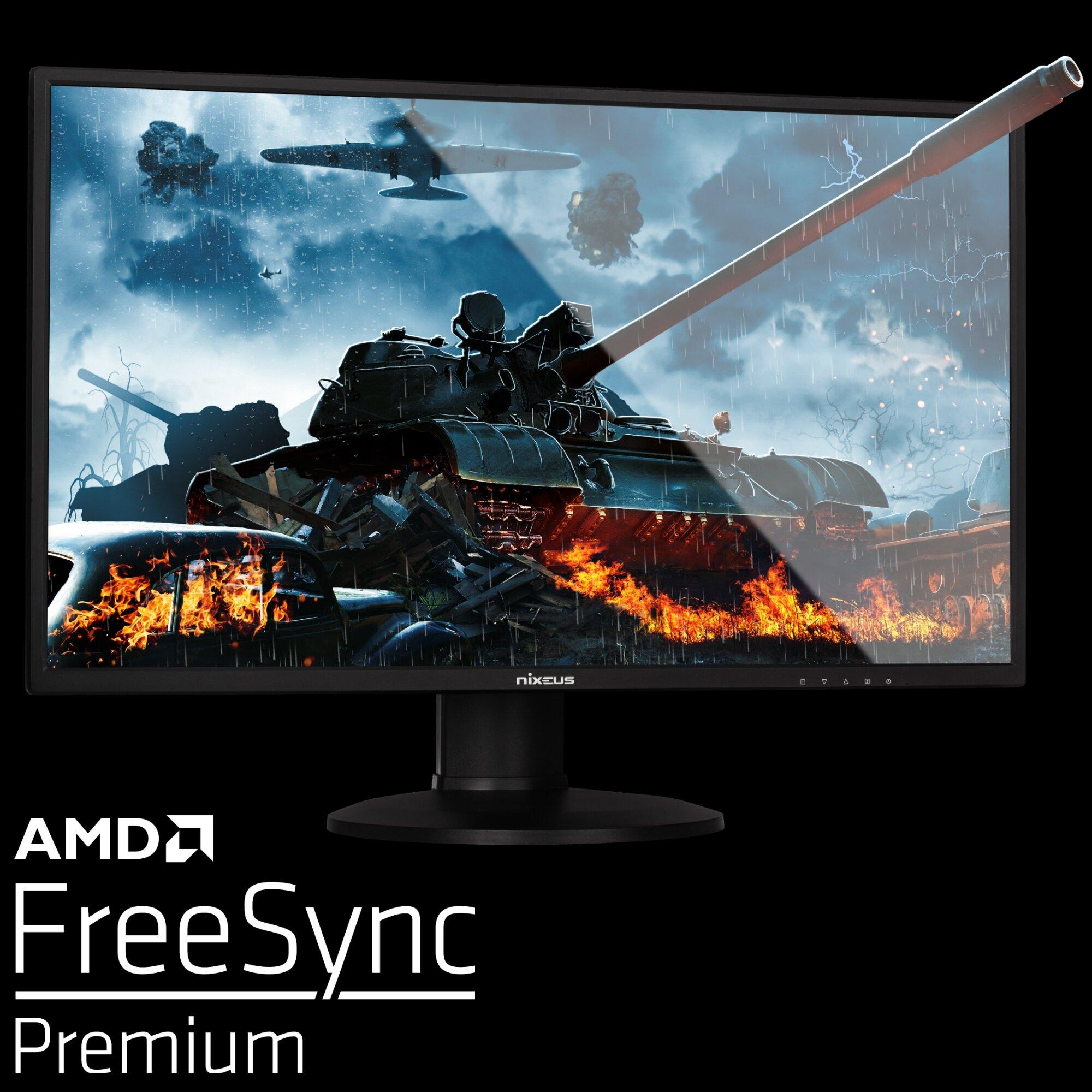 Nixeus Edg 27 Ips 2560 X 1440 Amd Freesync Premium Certified 144hz Gaming Monitor V2 Nixeus
