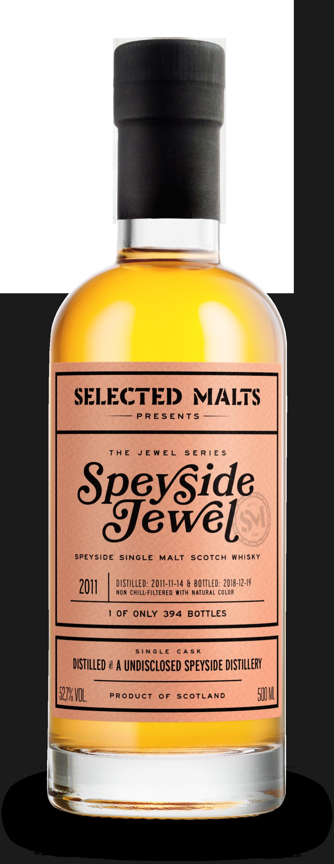 Speyside Jewel2011 - Innehåll: 500 mlAntal: 394ABV: 52,2%Lanserad: 2019-03-13LADDA NER INFOBLAD