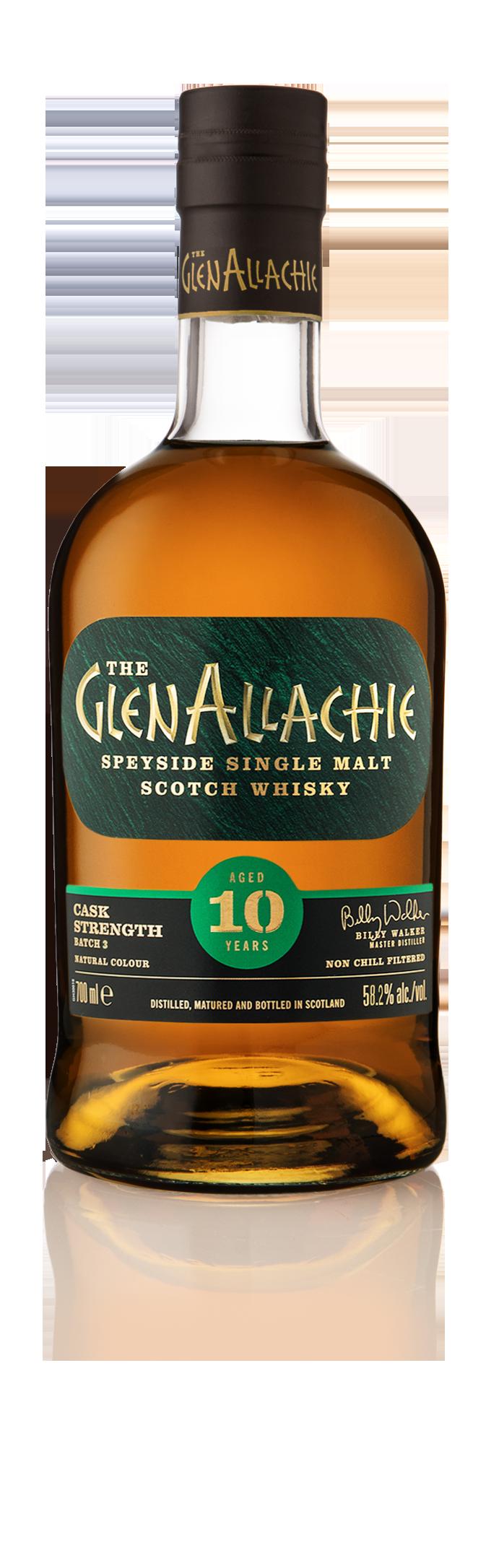 Glenallachie 10 yO Cask Strength - LADDE NER INFOBLAD