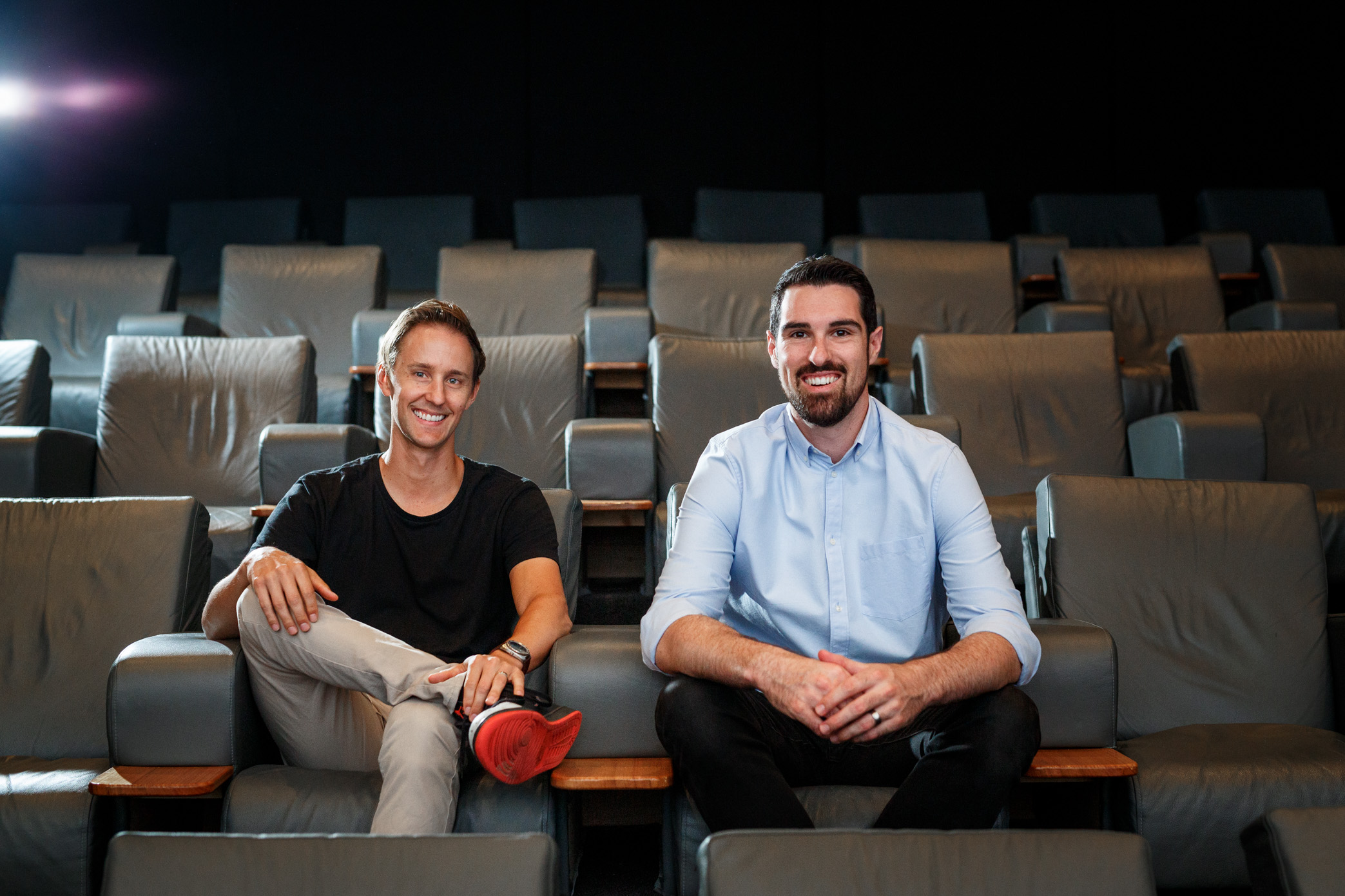 Co-founders Callan Durlik (left) and Josh Horneman (right).