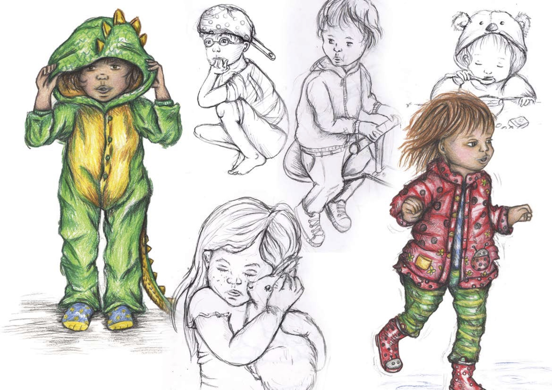Our sketches of children