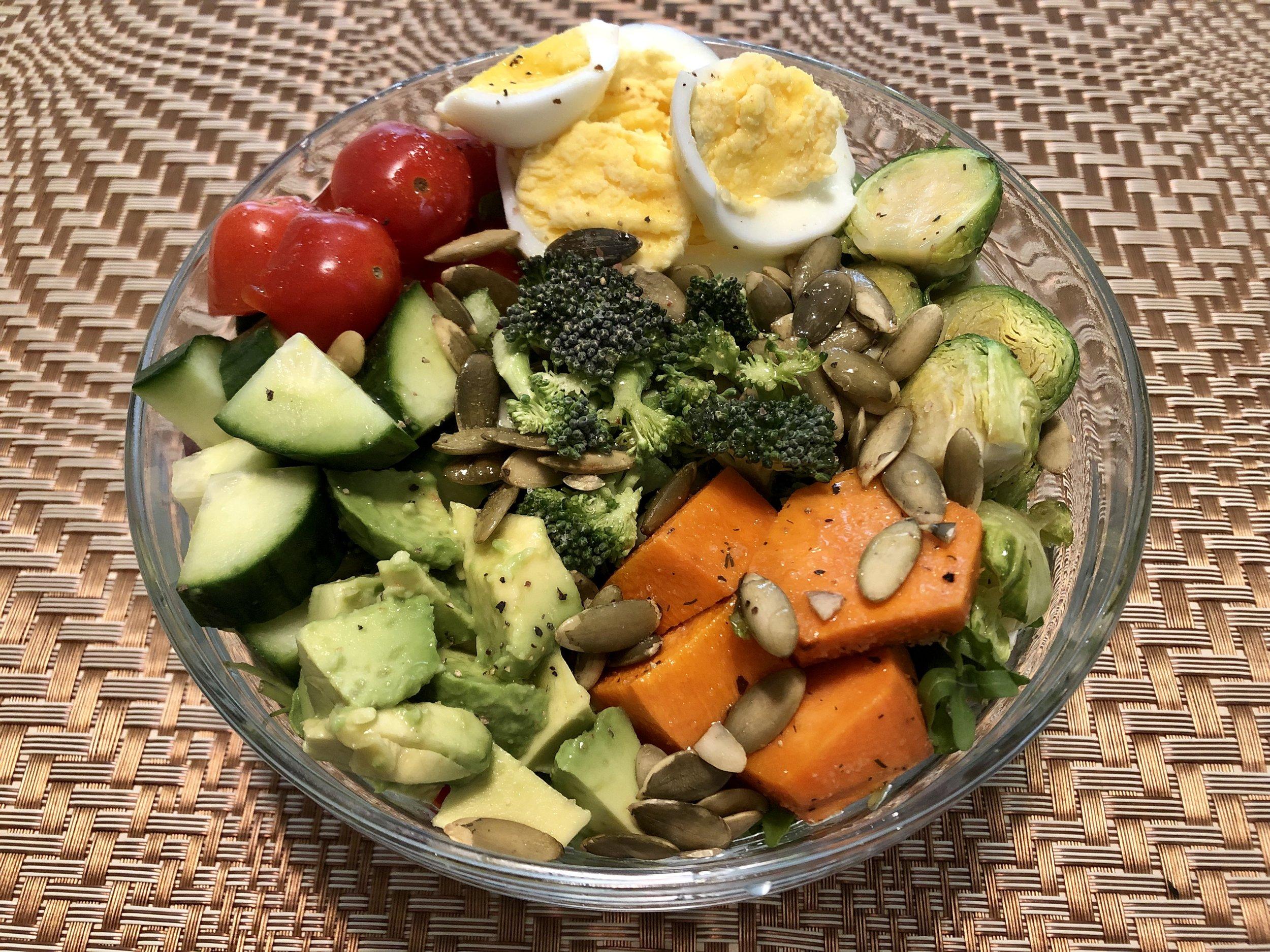 Vibrant Egg Salad