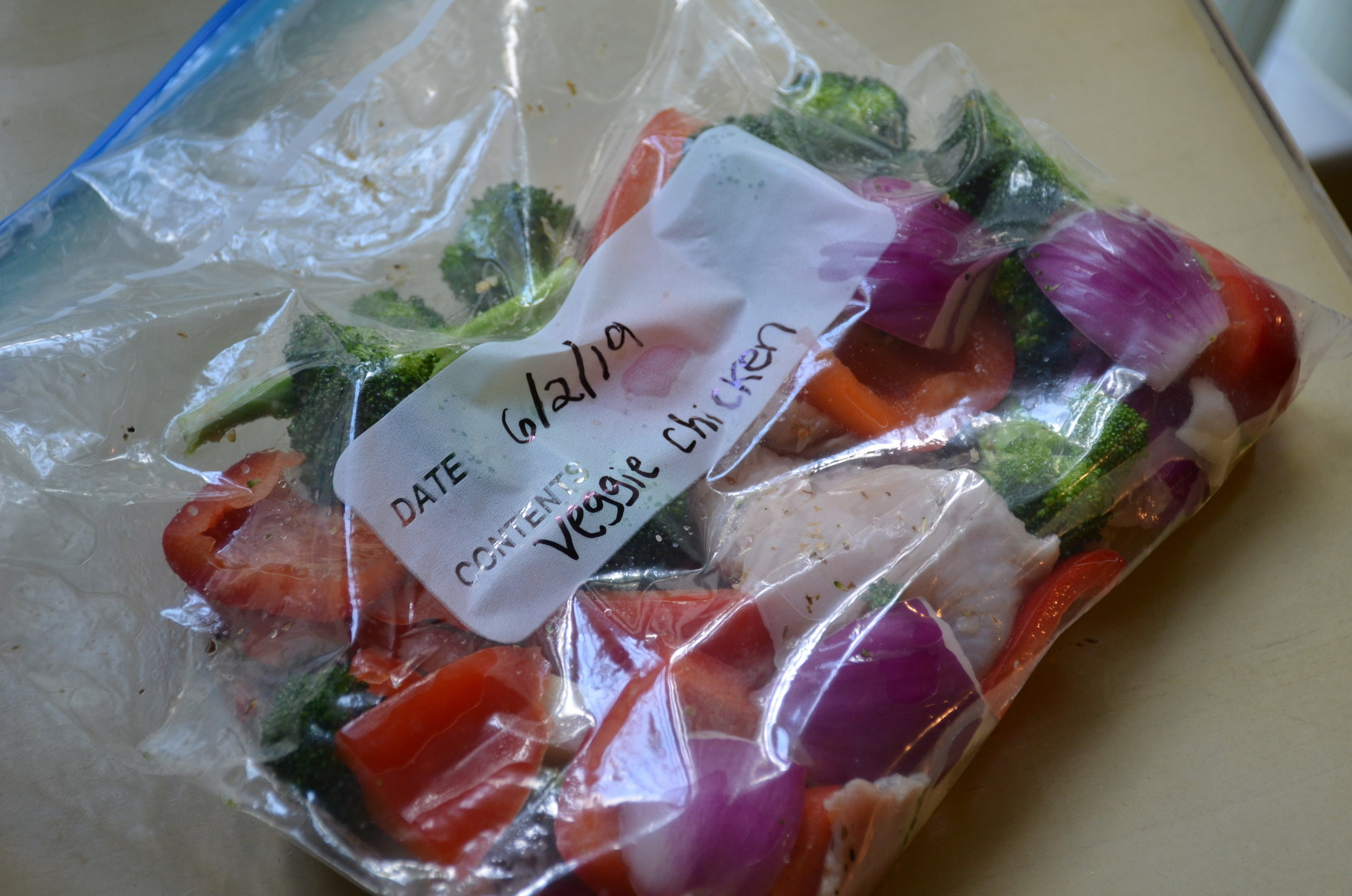 Chicken Veggie Freezer Pack